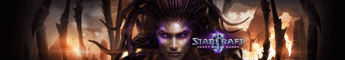 starcraft banner heart of the swarm