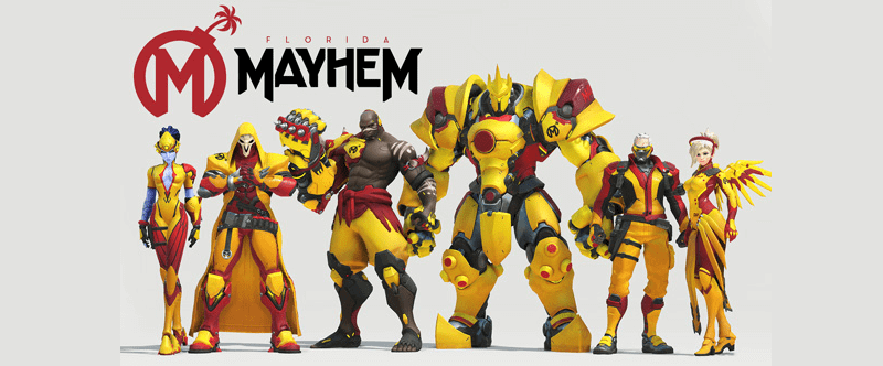 Florida Mayhem Overwatch Esports Team
