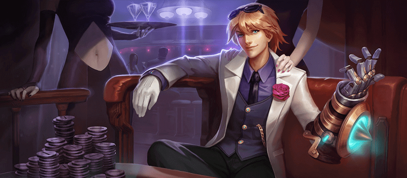 Debonair Ezreal Splash Art