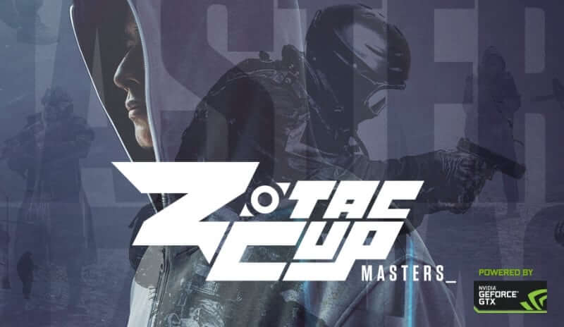 $300,000 Zotac Cup Masters Tournament Announced for August 24