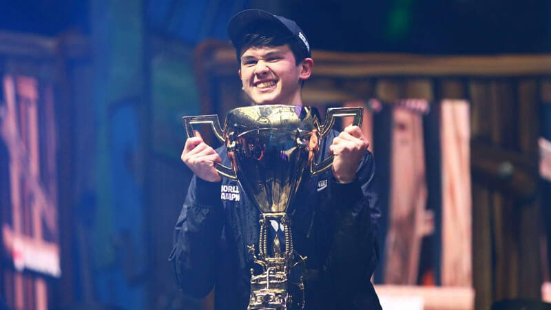 Bugha, winner of Fortnite World Cup