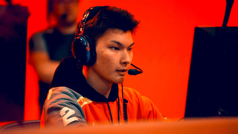 Overwatch player Sintraa at Overwatch League