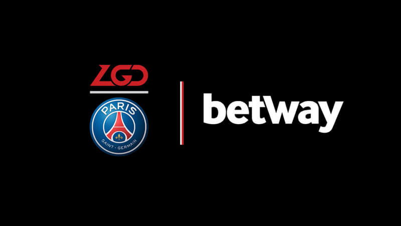 Betway and PSG.LGD new sponsorship
