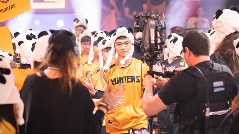 Chengdu Hunters at OWL 2019