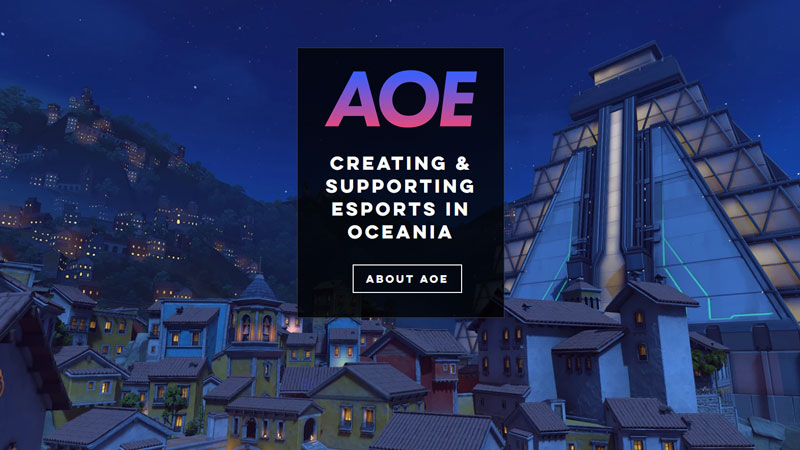 AoE meaning: Amateur Oceanic Esports