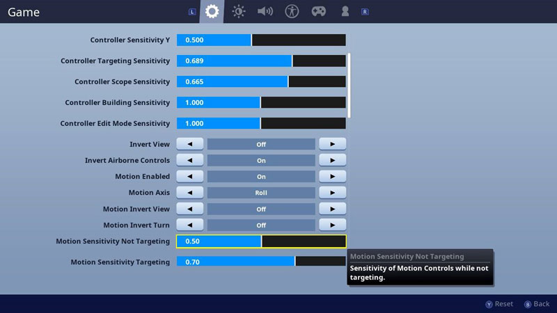 Best Fortnite Settings Nintendo Switch