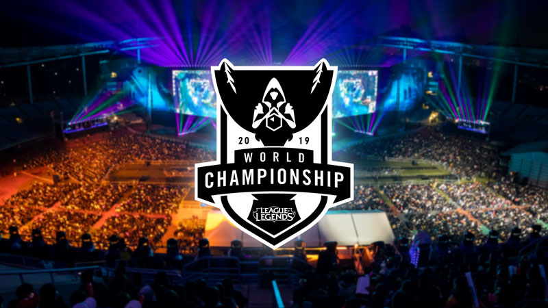 Resultado de imagem para League of Legends World Championship 2019