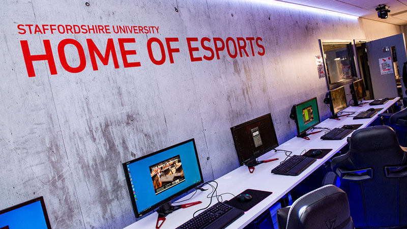 Esports as University Degreen - Staffordshire University