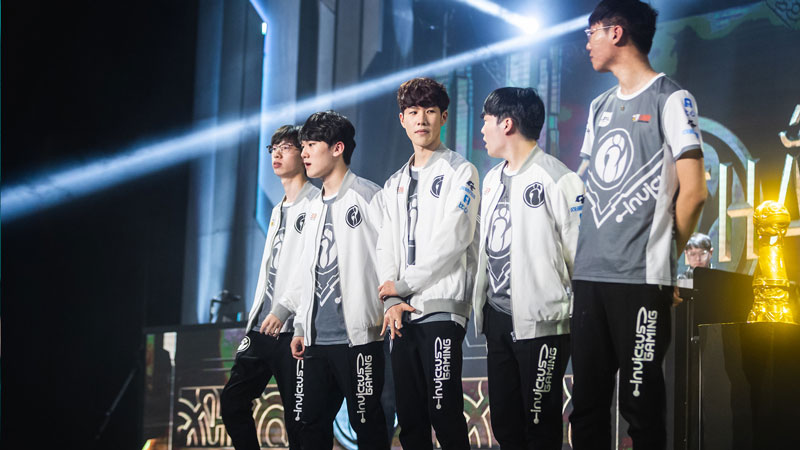 Invictus Gaming - LoL Worlds 2019 Teams