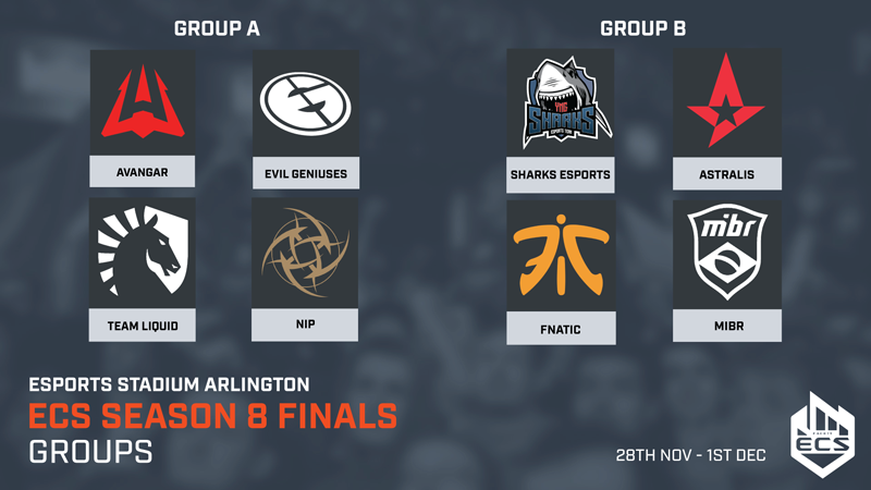 ECS Season 8 Dallas Finals Group
