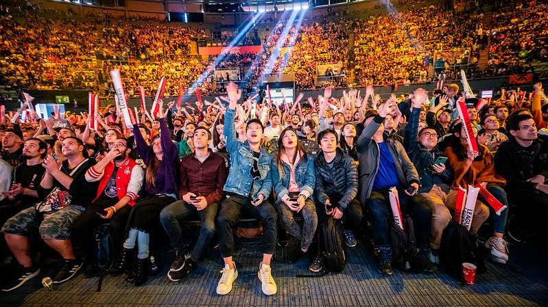 Riot Games League of Legends Tournament Fans