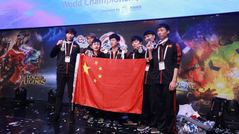 China esports audience figures grow