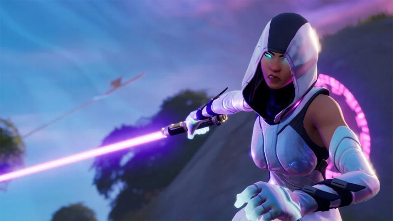 Fortnite Players Complain about Lightsabers