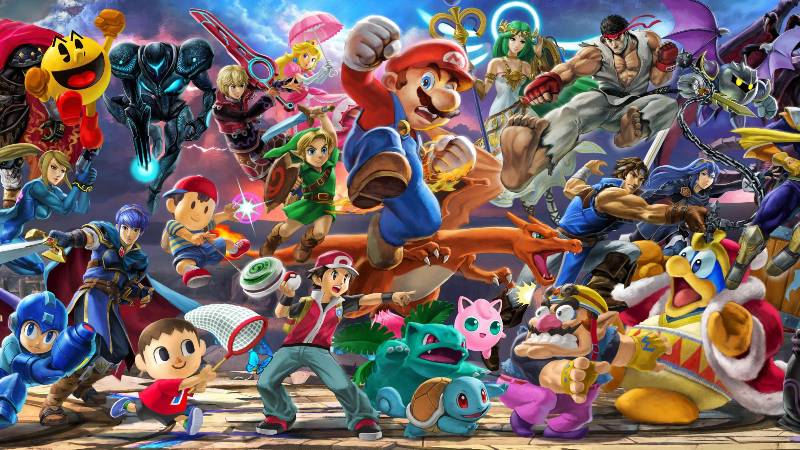 Super Smash. Bros Ultimate at EVO