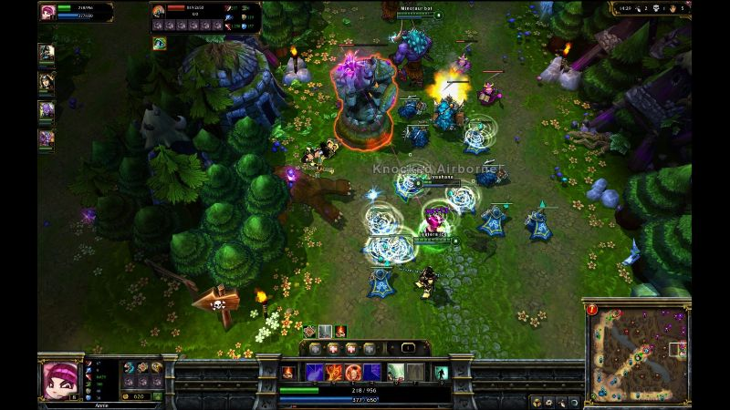 League of legends gameplay esports games