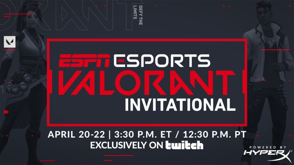 CSGO and Apex pros dominate the ESPN Valorant Invitational