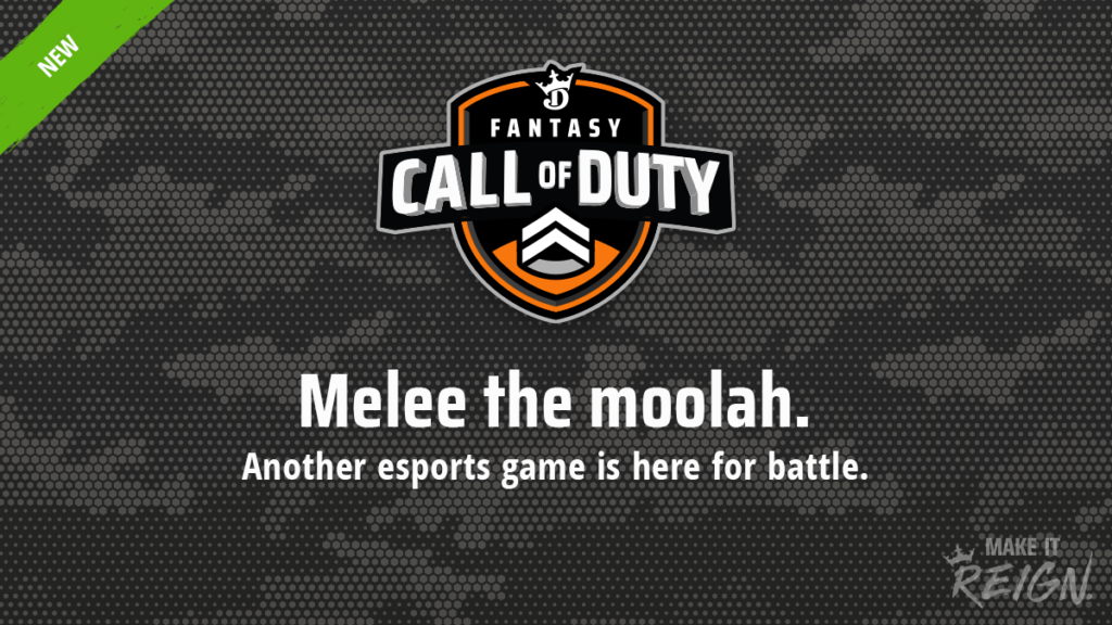 Call of Duty joins the DraftKings fantasy lineup
