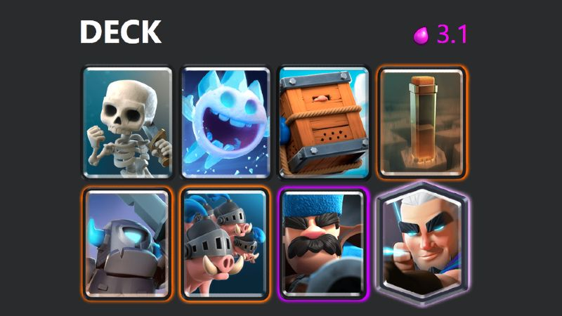 Royal Hogs, Royal Delivery - Best Clash Royale Decks