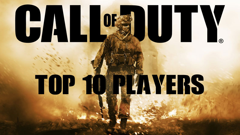 Best Call of Duty Players - TOP 10 CoD Players