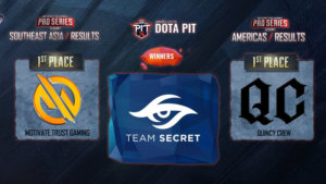 The old and new Dota 2 regional contenders this fall