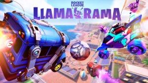 Rocket League goes free to play today with Llamatastic celebrations