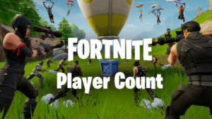 What is the Fortnite Player count in 2021?