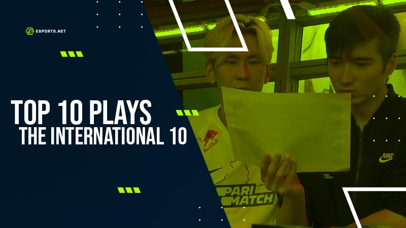 Top 10 Plays from The International – Highlights for your TI10 archives thumbnail